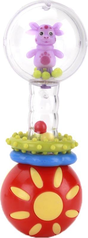Погремушка Умка Лунтик с фигуркой умка лунтик погремушка пчелка цвет зеленый голубой красный