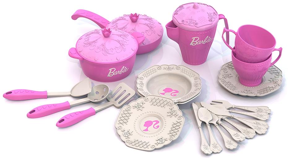 Посуда и наборы продуктов Нордпласт Игровой 21 пр. игровые наборы dickie игровой набор аэропорт