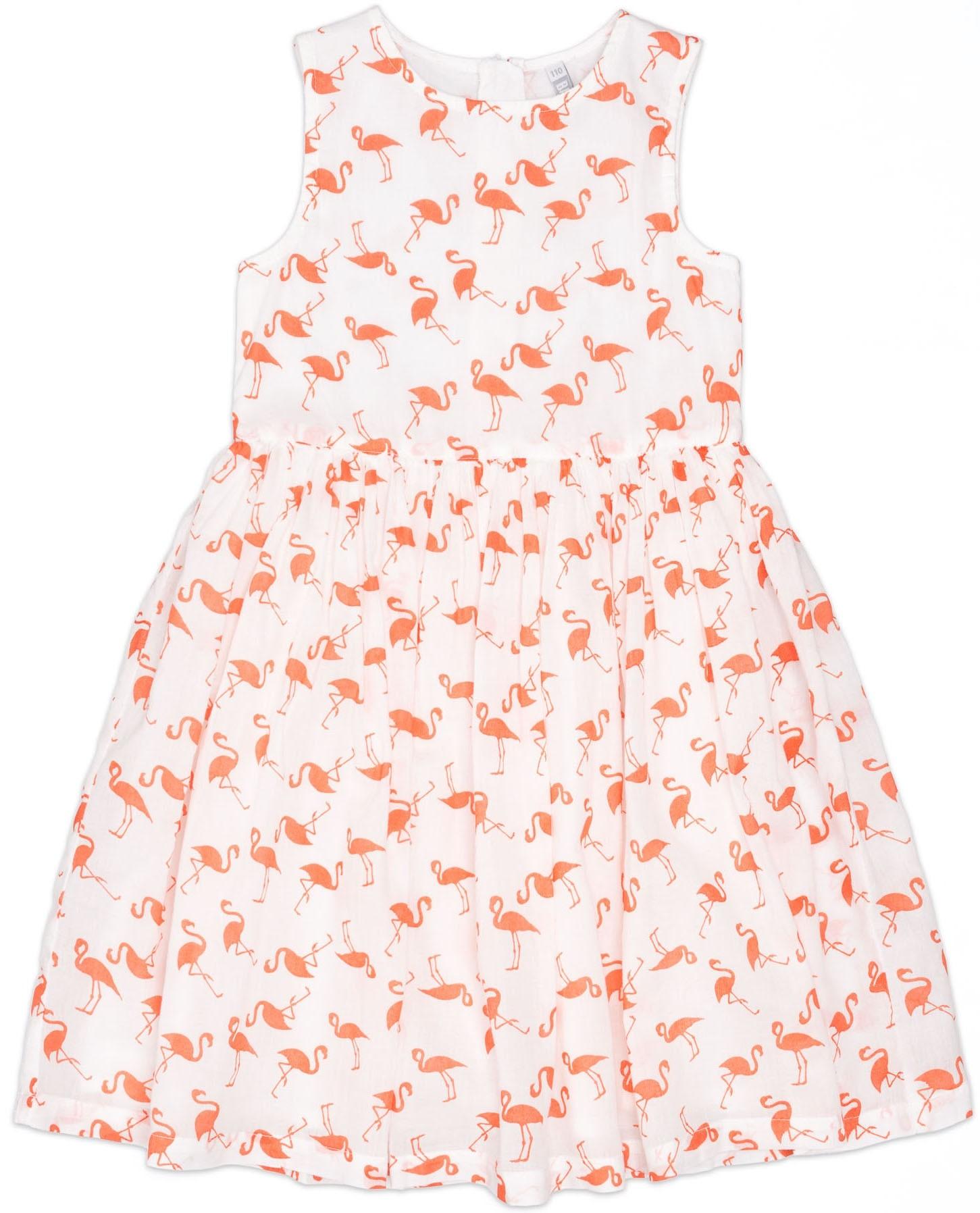 Платье без рукавов Barkito Фламинго 734014 X001 75