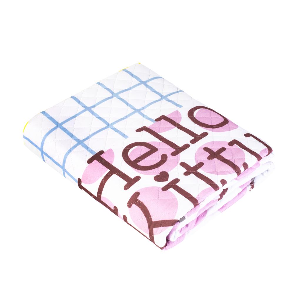 Постельные принадлежности HELLO KITTY Покрывало Hello Kitty «Sweet Kitty» 160х200 см large pink strawberry fruit hello kitty plush toy 60cm throw pillow birthday gift w5339