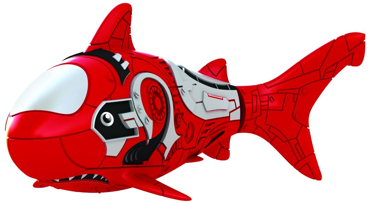 Интерактивные животные ZURU Интерактивная игрушка Zuru «РобоРыбка» игрушка zuru robofish акула grey 2501 5