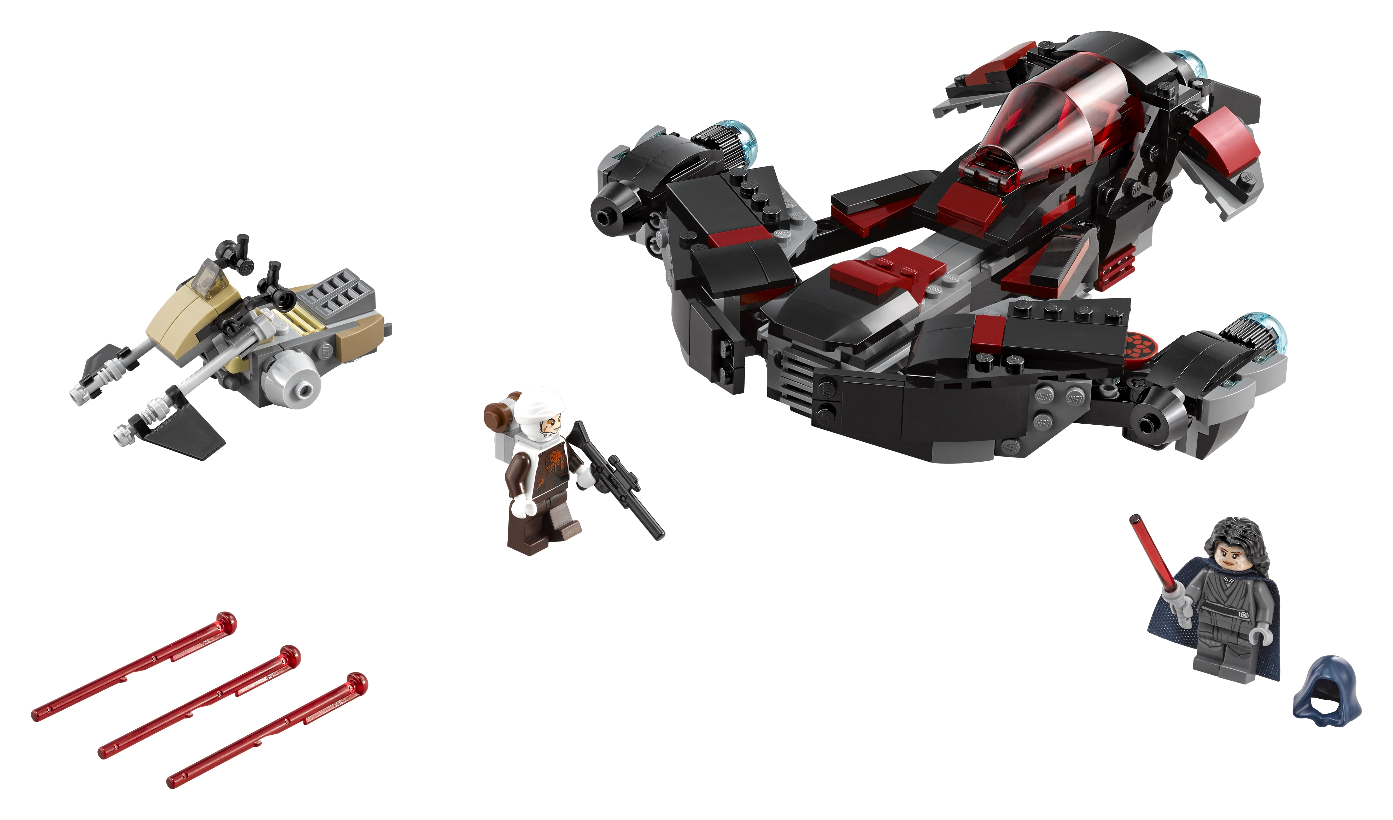 Star Wars LEGO 75145 Истребитель Затмения crystaland конструктор истребитель 6 в 1