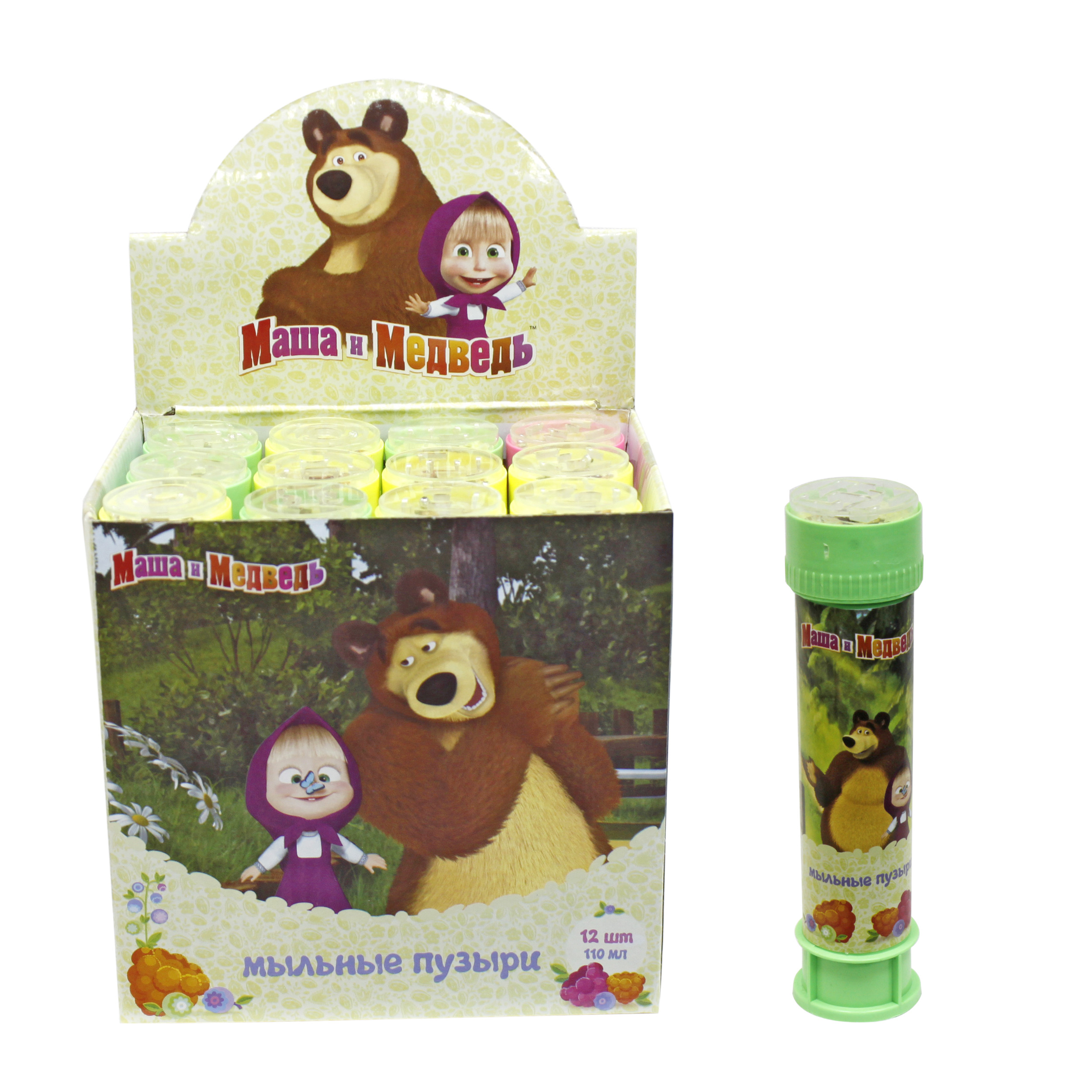 цена на Мыльные пузыри 1toy Маша и Медведь