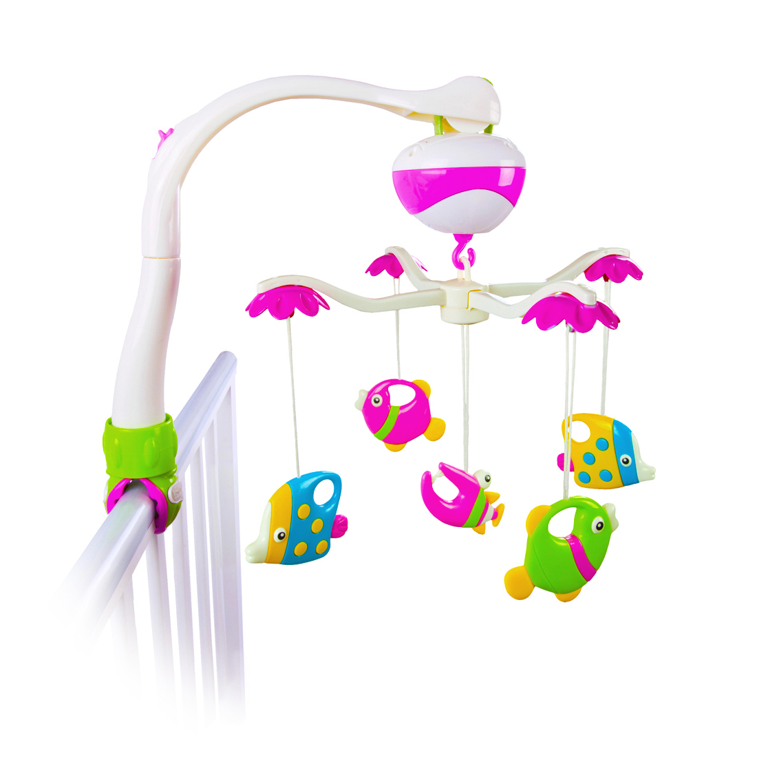 Подвески для малышей Наша игрушка Рыбки мобили жирафики мобиль жирафики зоопарк музыкальный 2 режима