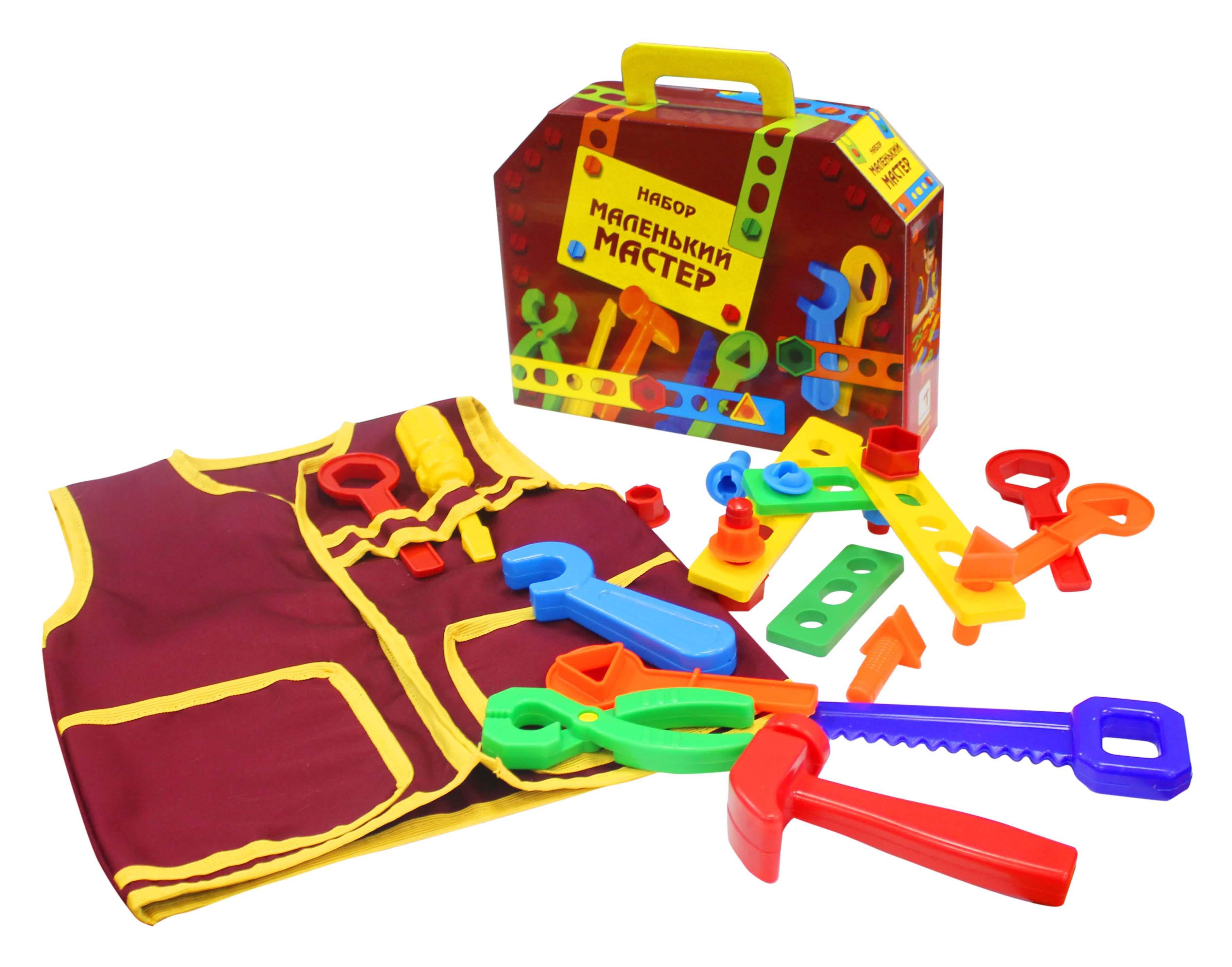 Наборы игрушечных инструментов Пластмастер Маленький мастер наборы игрушечных инструментов пластмастер игровой набор пластмастер набор инструментов плотник