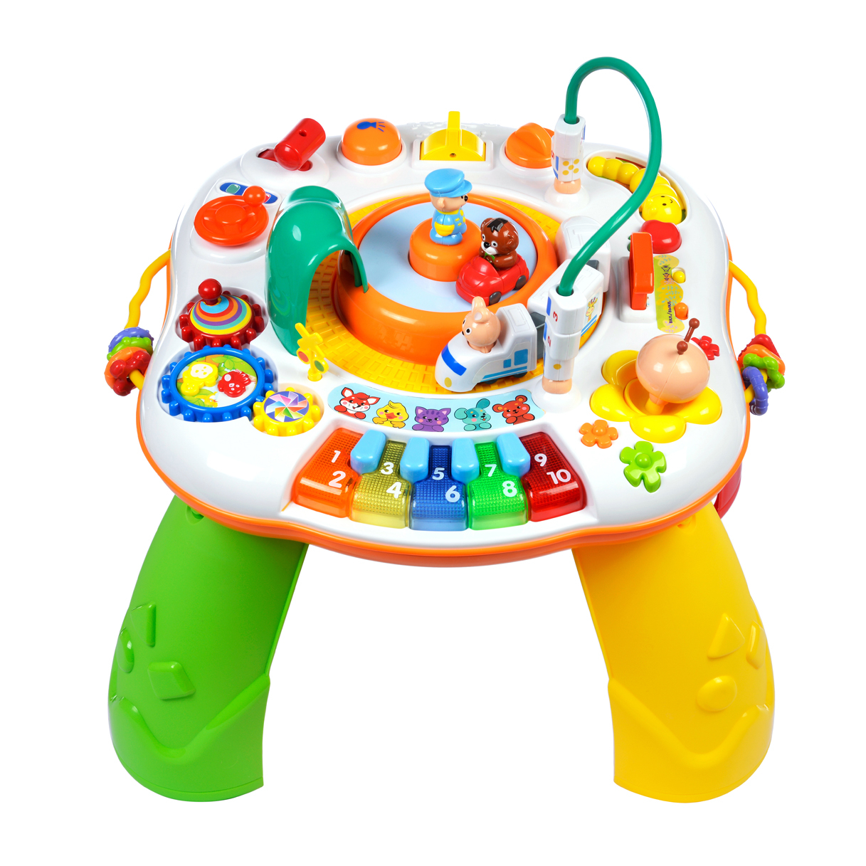 Купить Игровой столик, Мир приключений, 1шт., Жирафики 939493, Китай, Мультиколор
