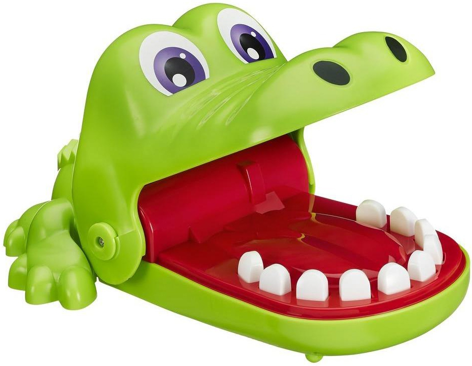 Развлекательные игры OTHER GAMES Интерактивная игра Hasbro «Крокодильчик Дантист» - Настольные игры