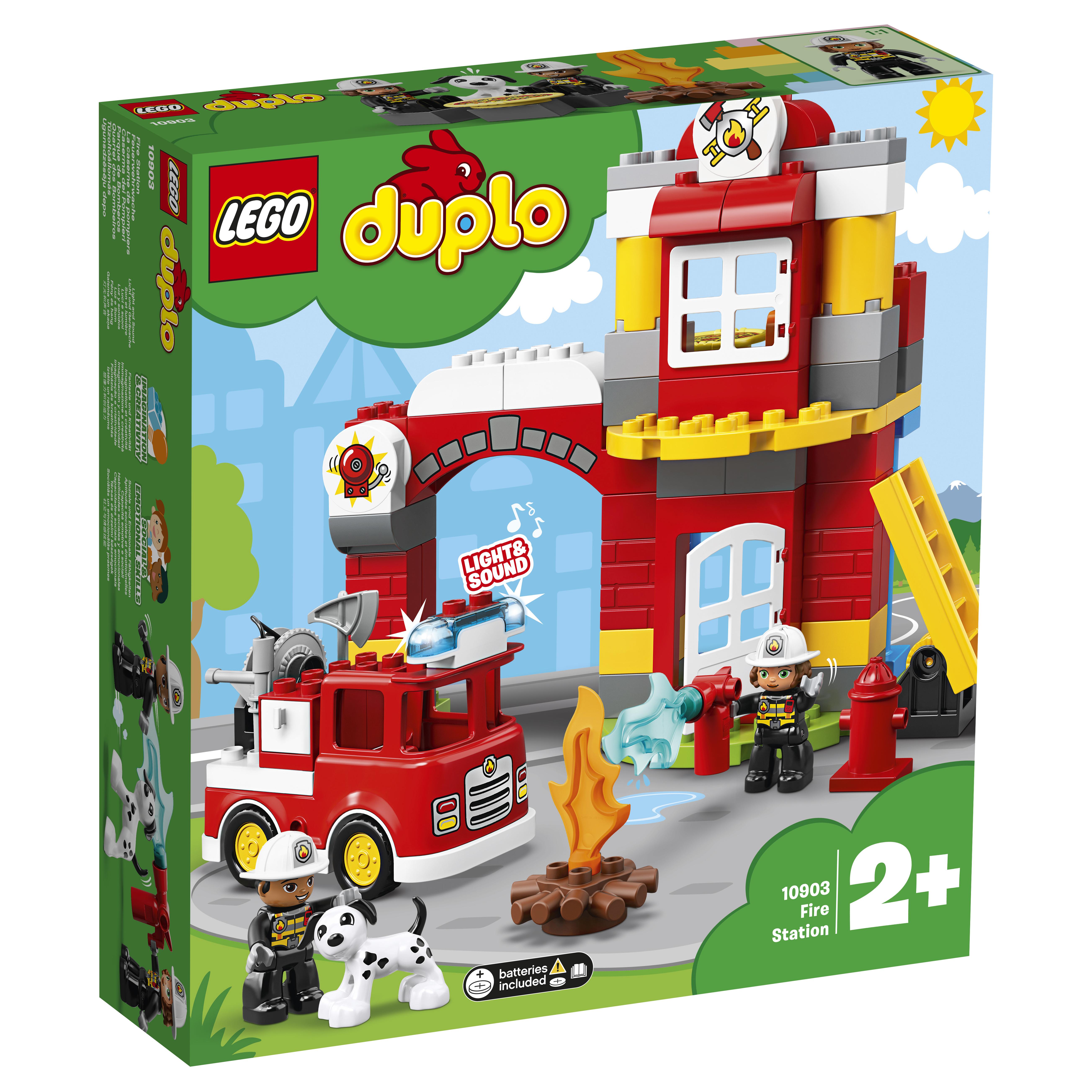 LEGO DUPLO LEGO Конструктор LEGO DUPLO Town 10903 Пожарное депо