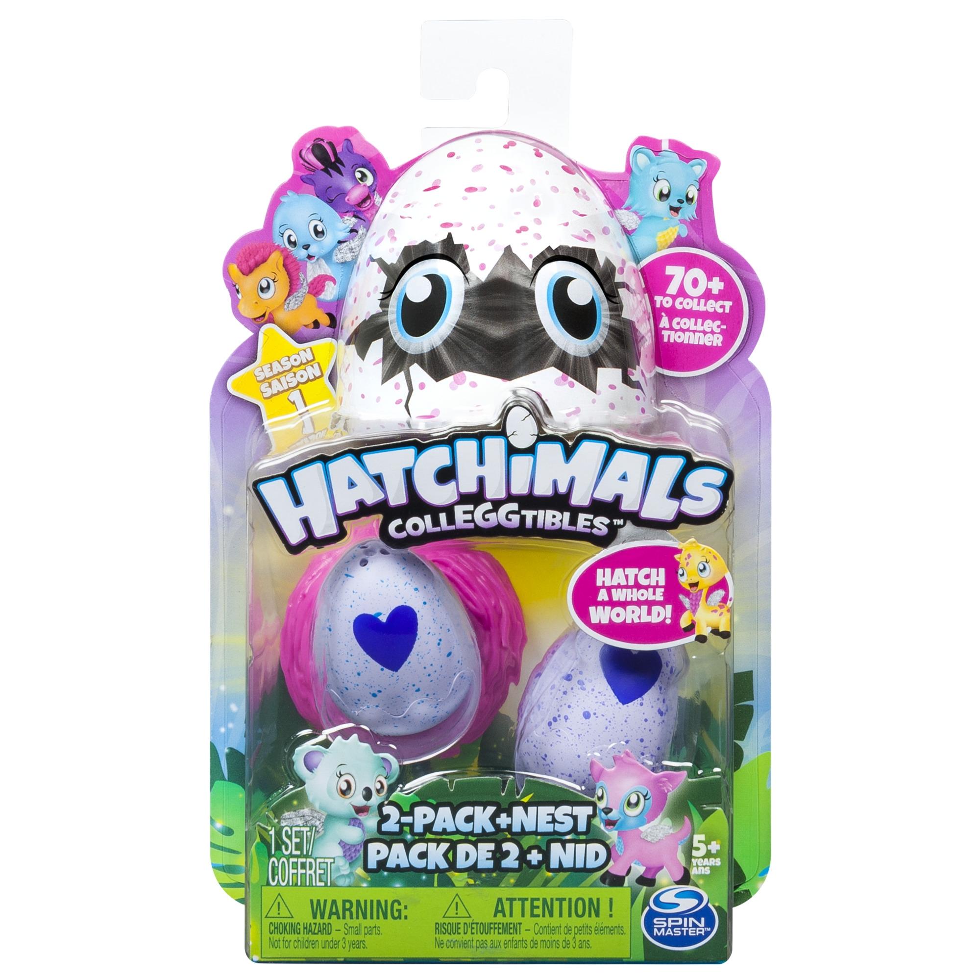 Фигурки животных Hatchimals Фигурка Hatchimals коллекционная 2 шт, в ассортименте фигурка для ребенка коллекционная simba зомби 2 шт в пакетике в ассортименте