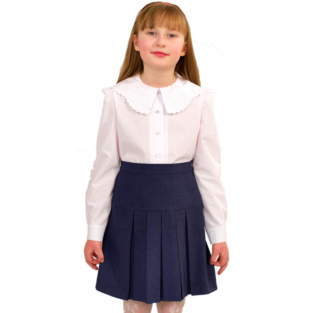 Купить Форма для девочек, Юбка Смена, Россия, blue, Женский