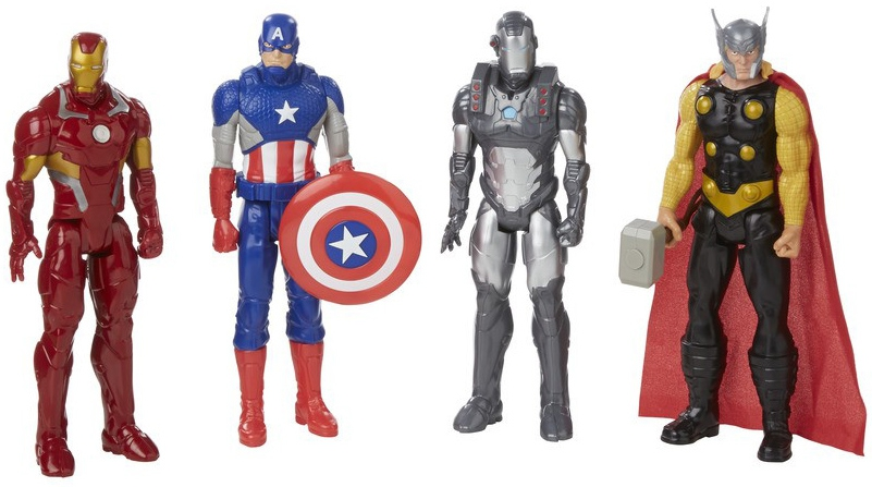 Avengers Avengers Первый мститель 30 см капитан америка удивительный человек паук 2 железный человек перчатки мультфильм детей игрушки передатчик