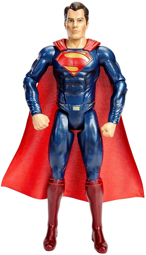 Фигурки героев мультфильмов BATMAN Batman v Superman 30 см машинка на радиоуправлении shantou gepai ассортимент от 3 лет пластик qx3688 22
