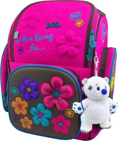 Ранец школьный De Luna DeLune delune delune ранец школьный 8 108 с мешком для обуви фиолетовый