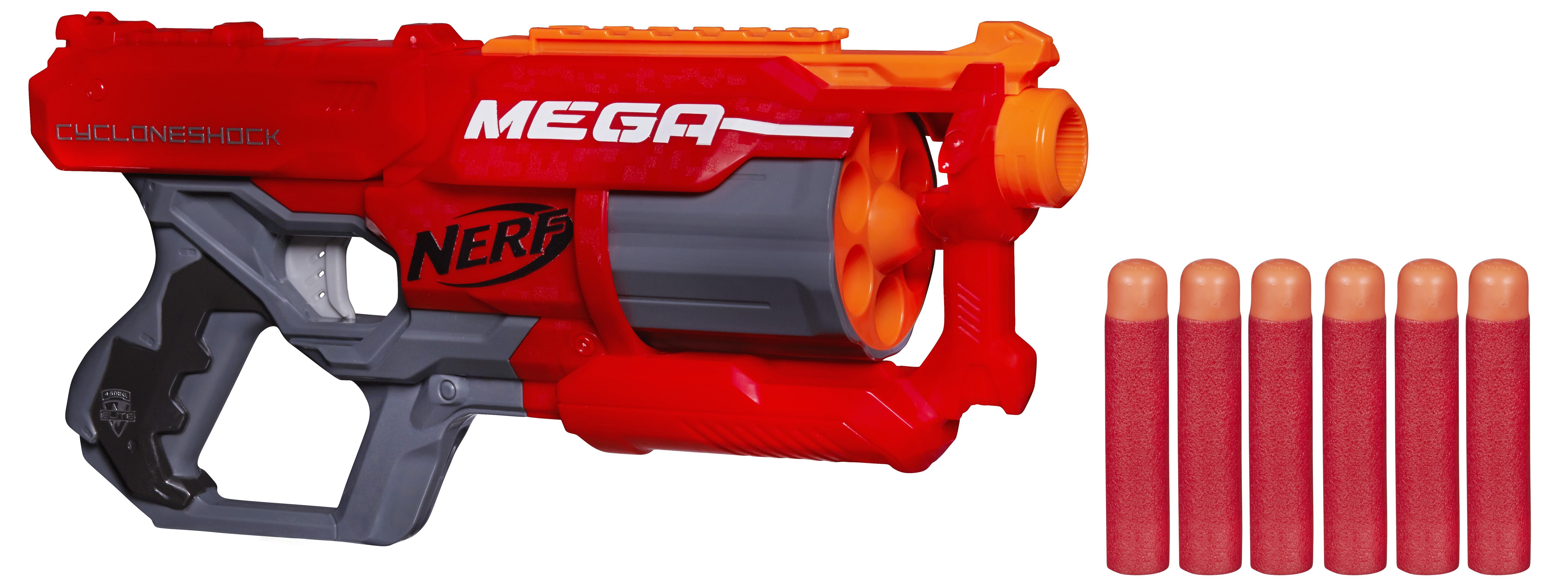 Бластеры NERF Мега Циклон-шок hasbro бластер циклон шок мега nerf