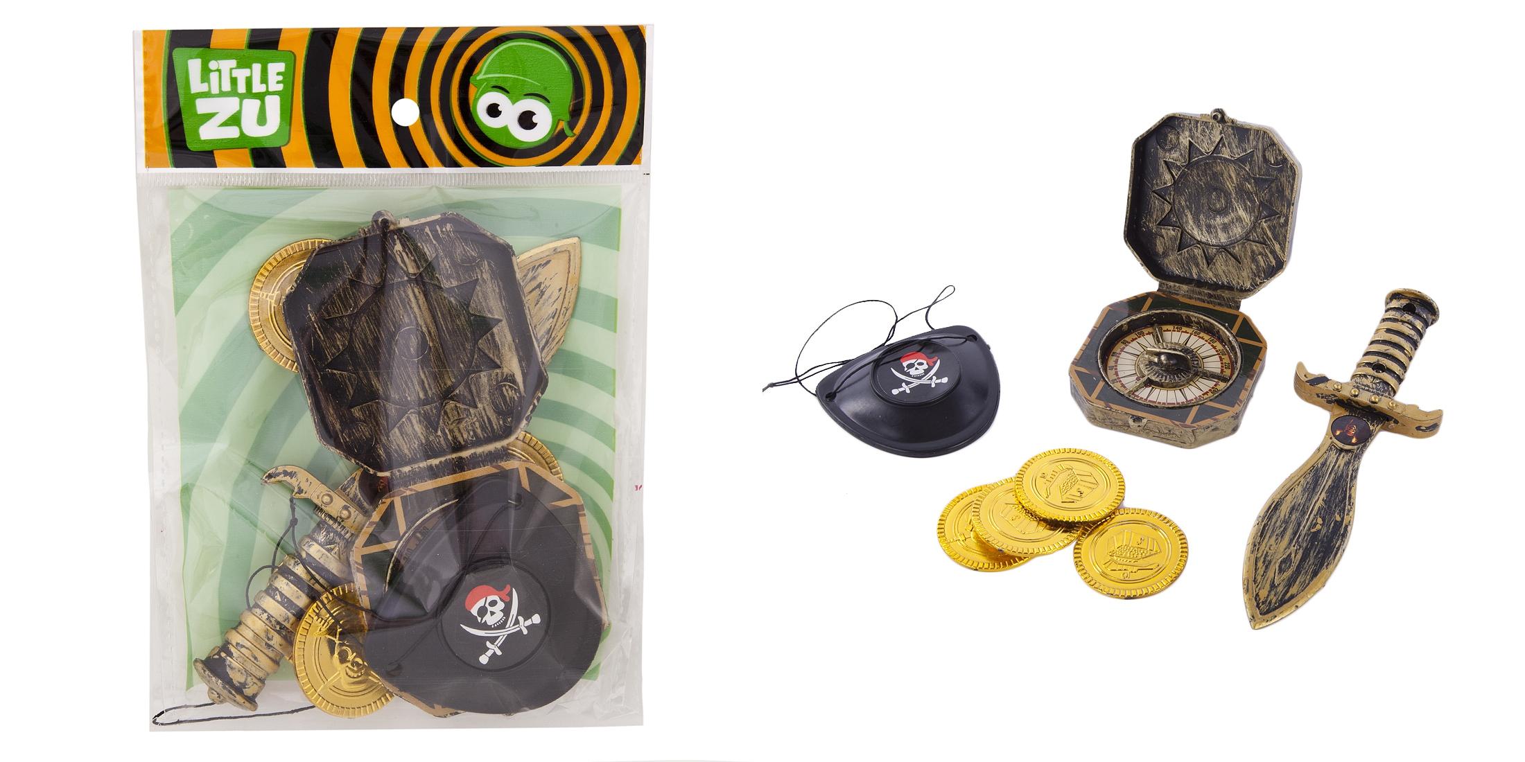 Игрушечное оружие и бластеры Наша игрушка Оружие с присосками, Наборы Полицейского, Наборы Пирата