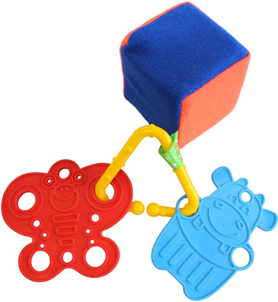 Погремушки Пластмастер Кубик радужный №1 деревянные игрушки mapacha кубик радужный 3 в 1