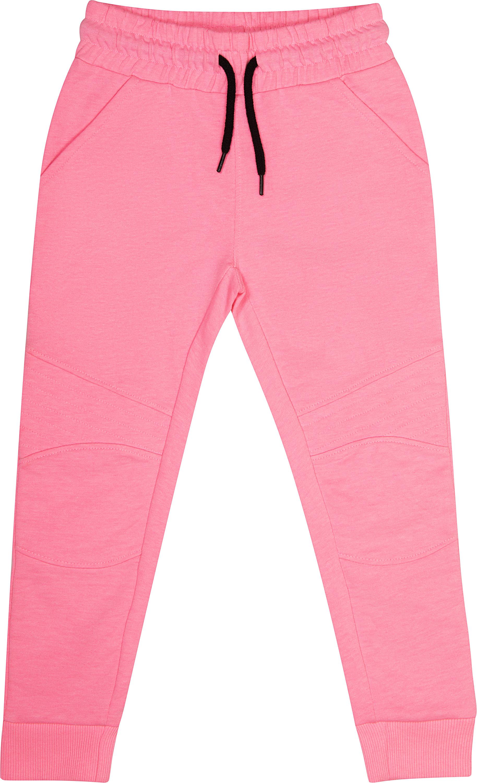 Купить Брюки трикотажные для девочки Barkito «Милитари», розовые, Индия, розовый, Женский