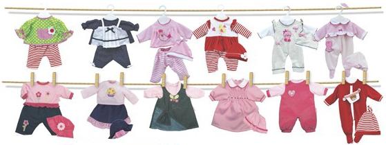 Одежда для кукол Bambolina 33-39 см