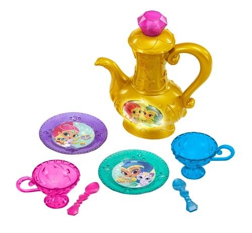 Аксессуары к серийным игрушкам Shimmer&Shine Игровой набор Shimmer&Shine «Волшебное чаепитие» игровой набор shimmer