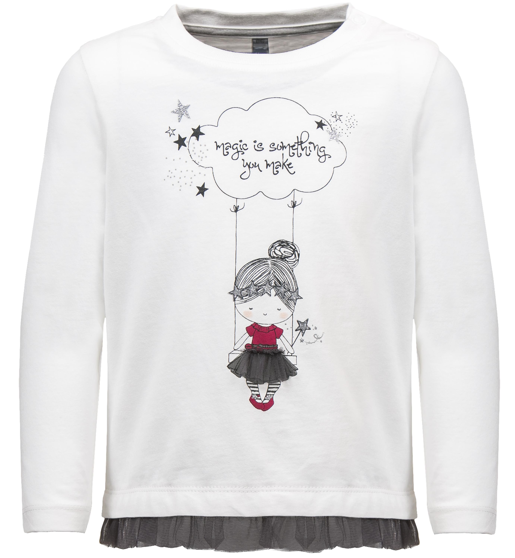 Купить Джемпер с длинным рукавом для девочки, Загадай желание! молочный, 1шт., Barkito 950540 X010 75, Бангладеш, Женский