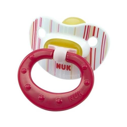 Пустышки NUK Soft ортодонтическая из латекса с 18 мес. пустышки nuk ортодонтическая силиконовая baby rose размер 2 6 18 мес