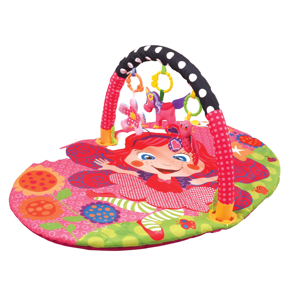 Развивающий коврик, Цветочная принцесса, 1шт., Ути Пути 49386, Китай, Мультиколор  - купить со скидкой