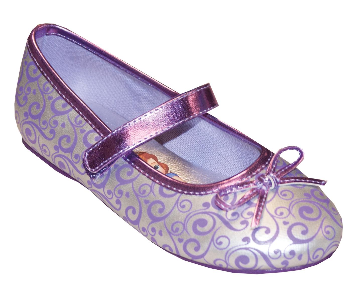 Туфли SOFIA THE FIRST Туфли для девочки Sofia the First, сиреневые пантолеты для девочки sofia the first голубые