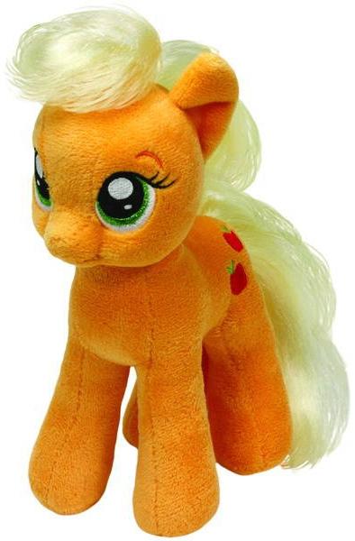 Мягкая игрушка TY Пони Apple Jack мягкая игрушка брелок пони