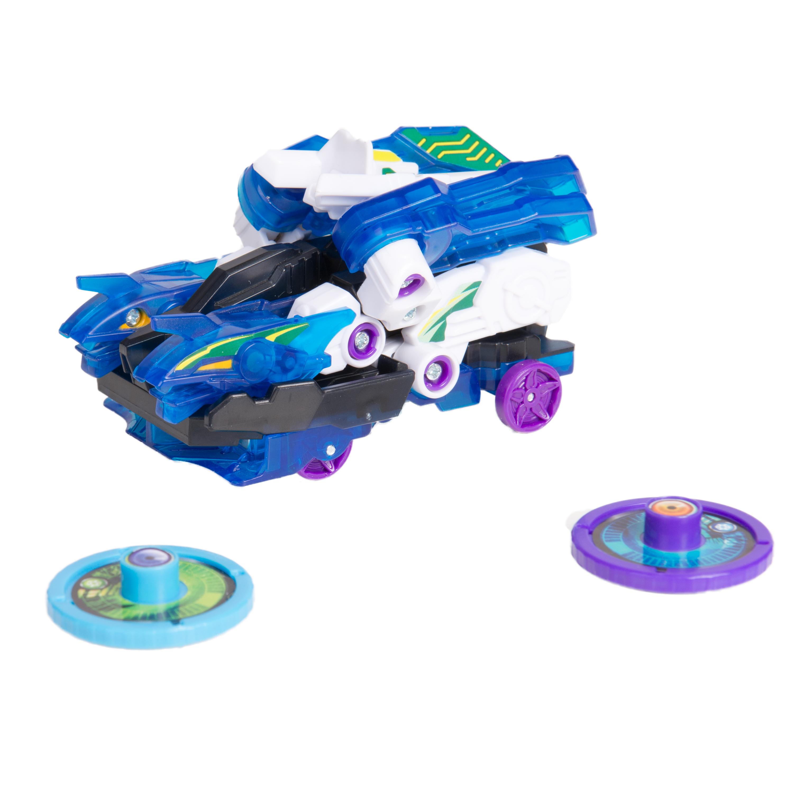 Машинка-трансформер РОСМЭН H2Октан л3 игрушка машинка трансформер дикие скричеры h2октан л3 тм screechers wild 35896