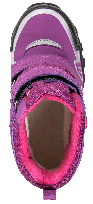 Ботинки и полуботинки Barkito Ботинки малодетские, дошкольные для девочки Barkito, сиреневые цены онлайн