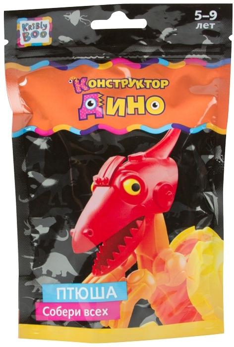 Фигурки животных Kribly Boo Динозаврик конструктор kribly boo 58359