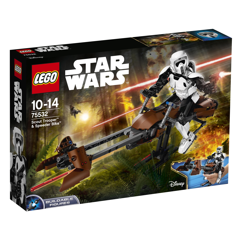 Star Wars LEGO Конструктор LEGO Constraction Star Wars 75532 Штурмовик-разведчик на спидере