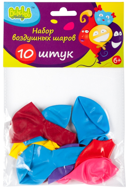 Набор воздушных шаров Bebelot Holiday набор для творчества bondibon фигуры из воздушных шаров разноцветный