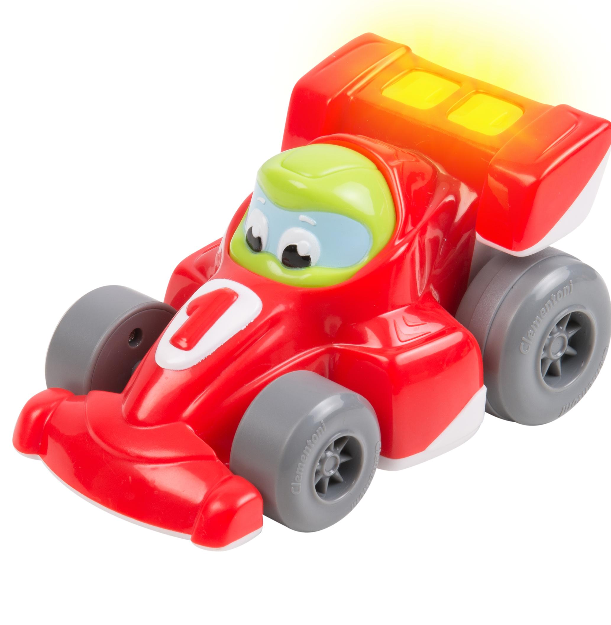 Инерционная игрушка Clementoni «Формула-1» инерционная игрушка clementoni полицейская машина