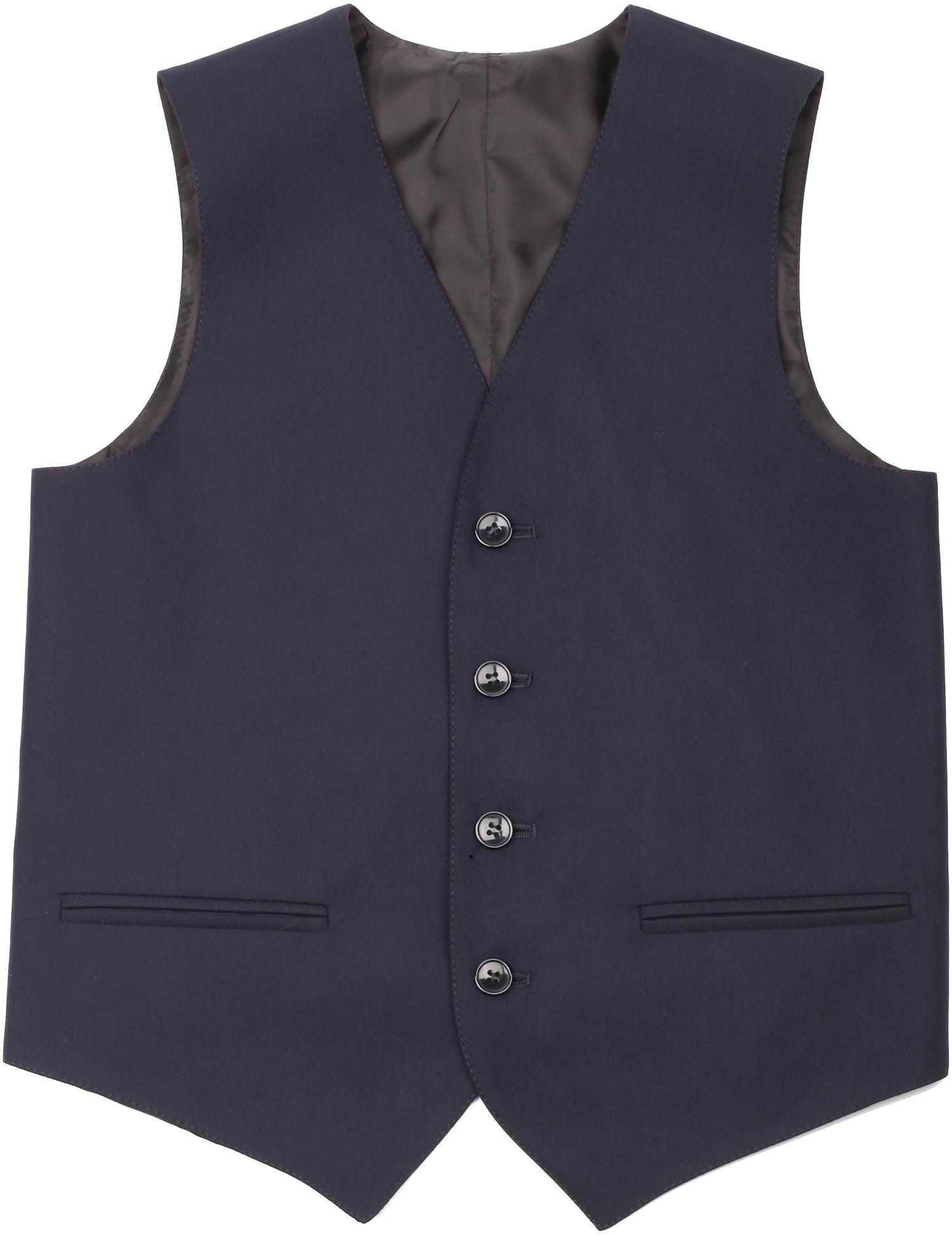 Форма для мальчиков VALMER Жилет для мальчика Valmer, синий модный жилет для мужчин no fear