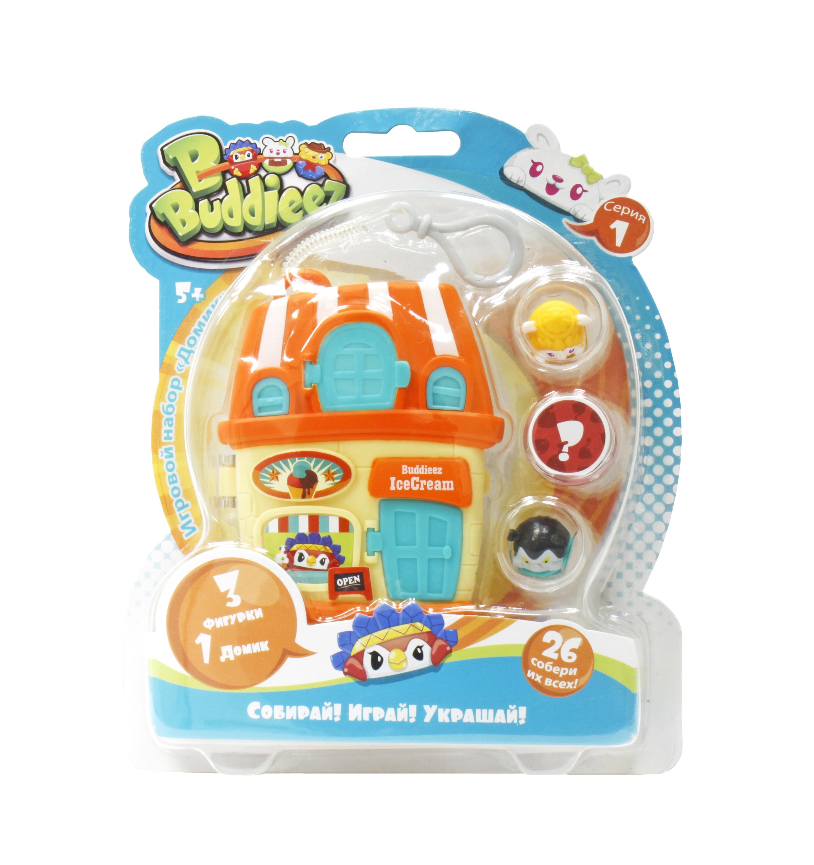 Украшения 1toy Оранжевый домик с 3 шармами игровой набор 1toy bbuddieez закрытый пакетик с 2 персонажами шармами 2 карточки 13 7см