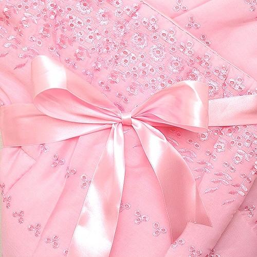 Комплекты на выписку Арго Одеяло нарядное на выписку для девочки АРГО, розовое цена