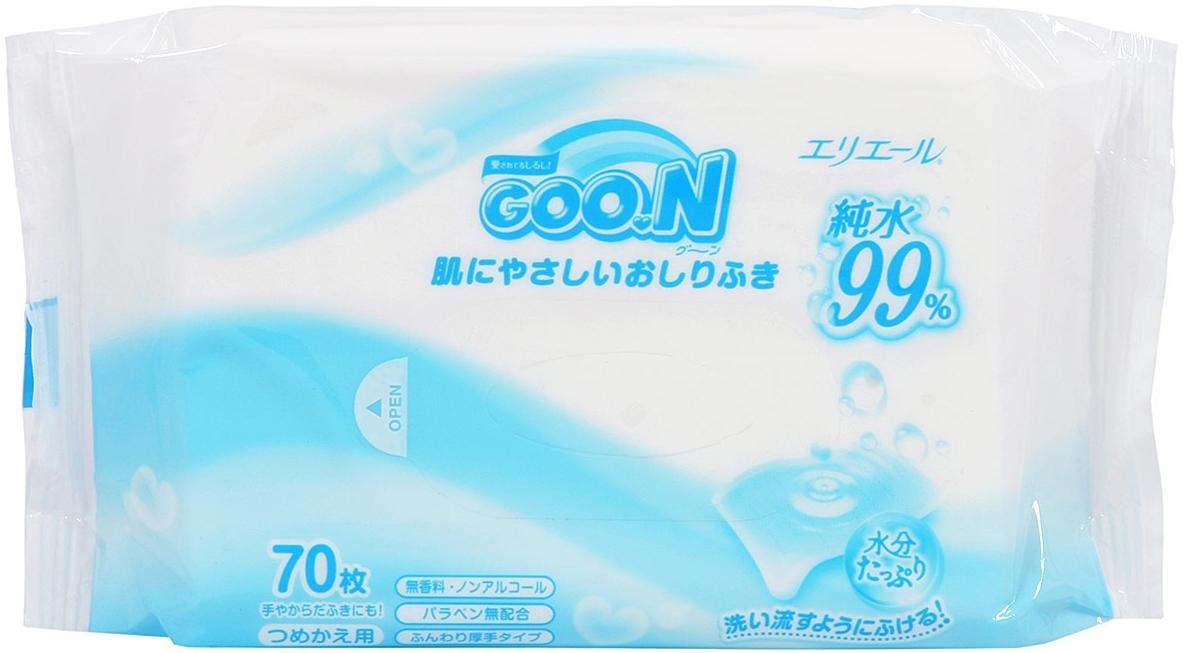 Прокладки и салфетки Goon Салфетки (70шт.) goon влажные детские салфетки goon 3 х 70 шт