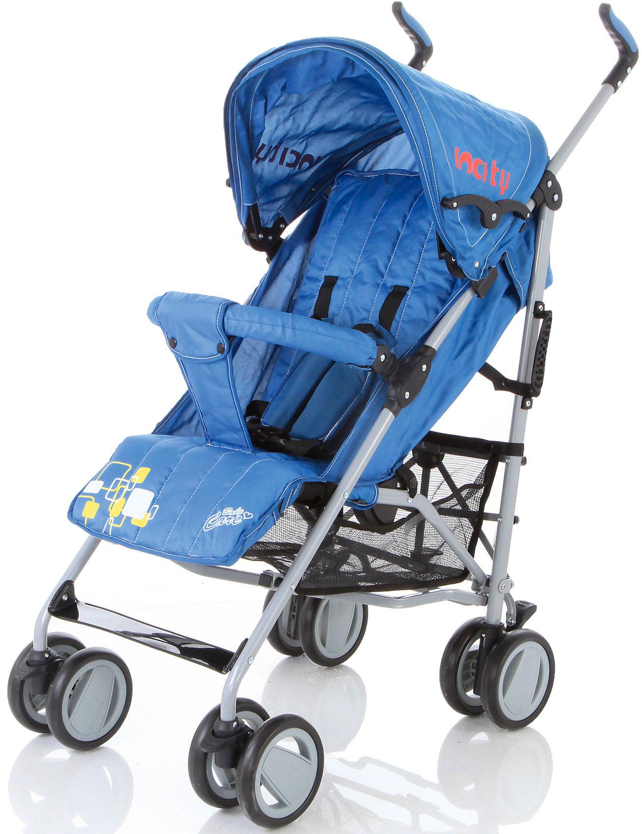 Коляска-трость Baby Care In City Blue