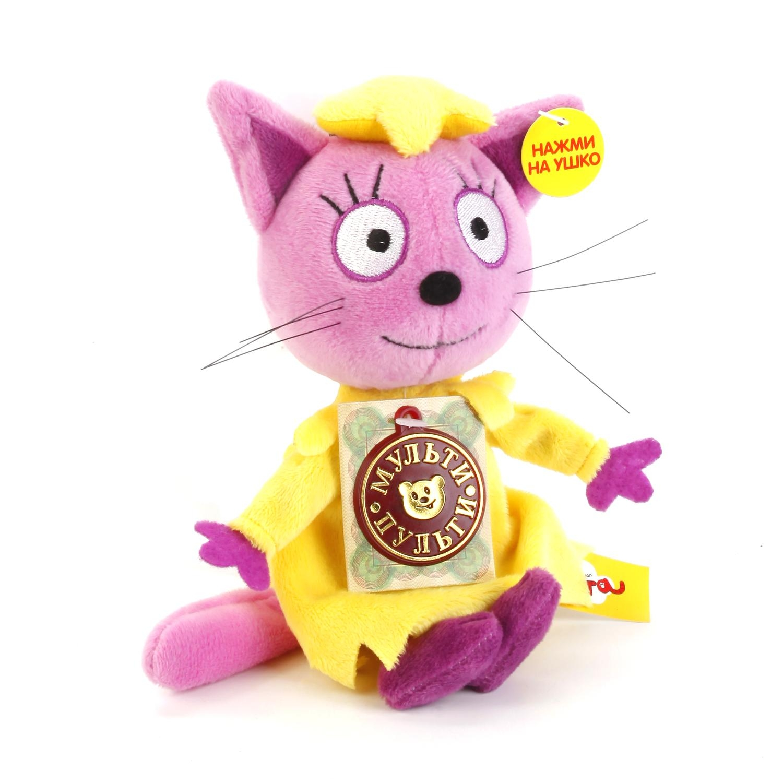 Мягкие игрушки Мульти-Пульти Мягкая игрушка Мульти-пульти «3 кота. Лапочка» 13 см мягкие игрушки мульти пульти мягкая игрушка рекс