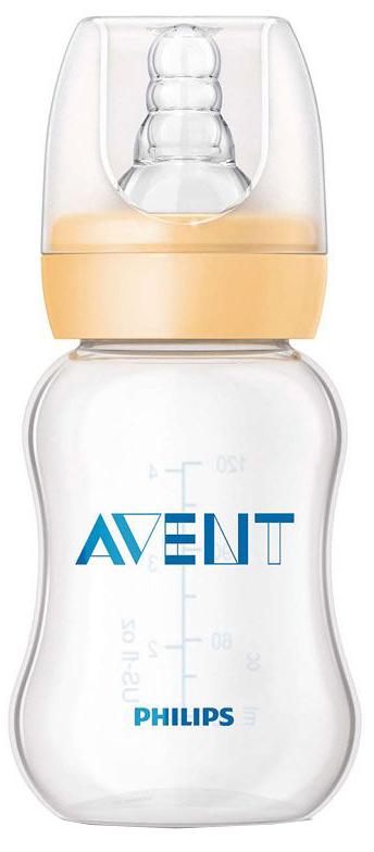 Бутылочки Philips AVENT Standard с силиконовой соской 0+, 125 мл.