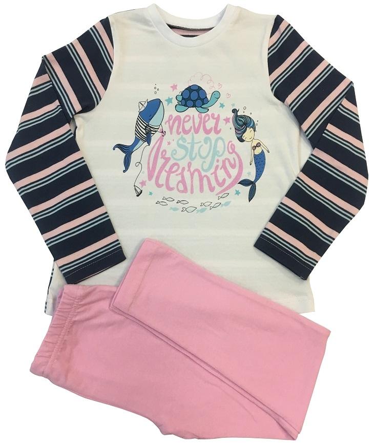 Пижама для девочки Allini 21686 пижама с шортами с рисунком