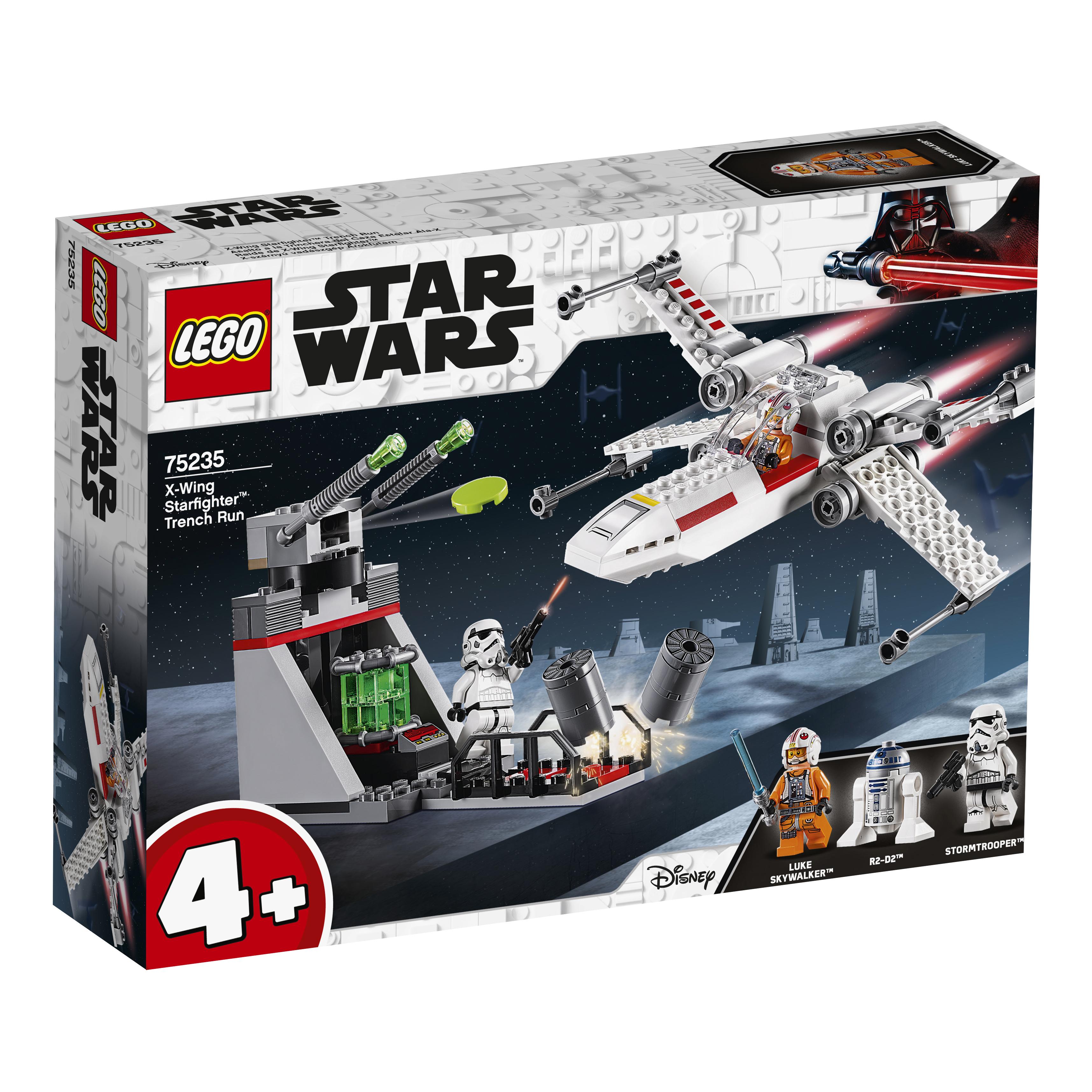 Конструктор LEGO Star Wars 75235 Звёздный истребитель типа Х конструктор lego star wars истребитель сопротивления типа икс 740 элементов 75149