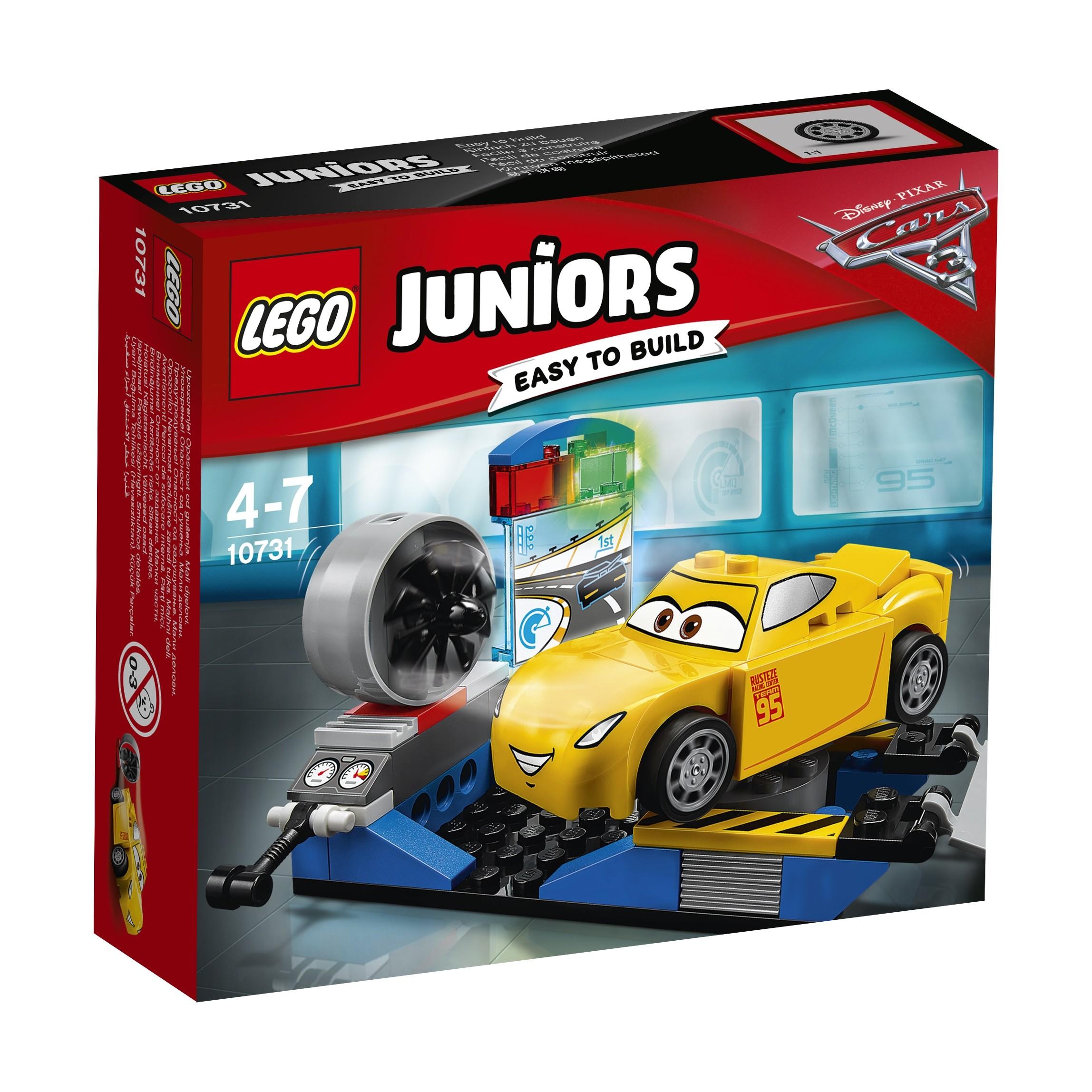 Конструктор LEGO Гоночный тренажёр Крус Рамирес конструктор гоночный трек