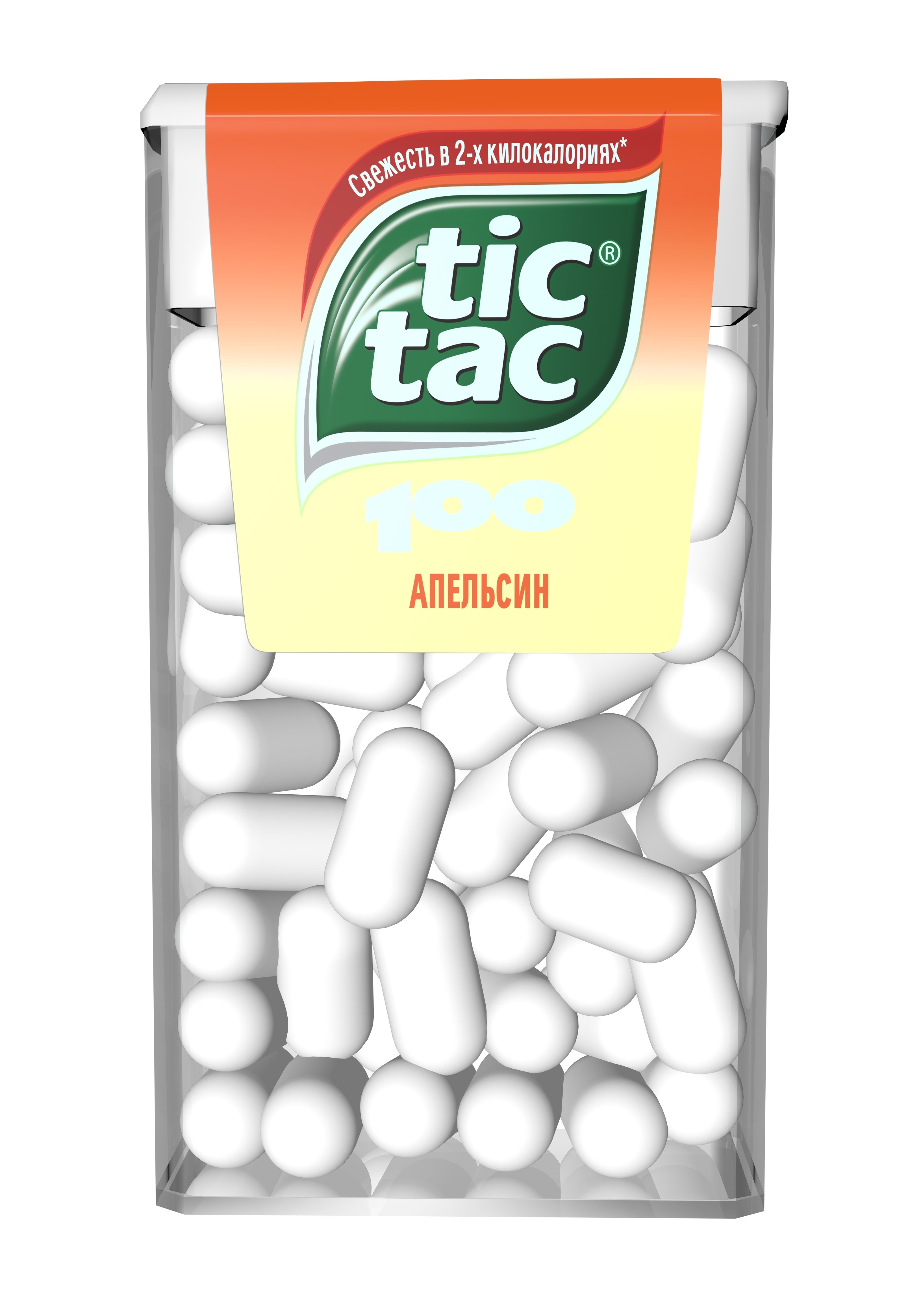 Десерты Tic Tac Tic Tac Апельсин 49 г конфитрейд disney драже с игрушкой проектор 8 г