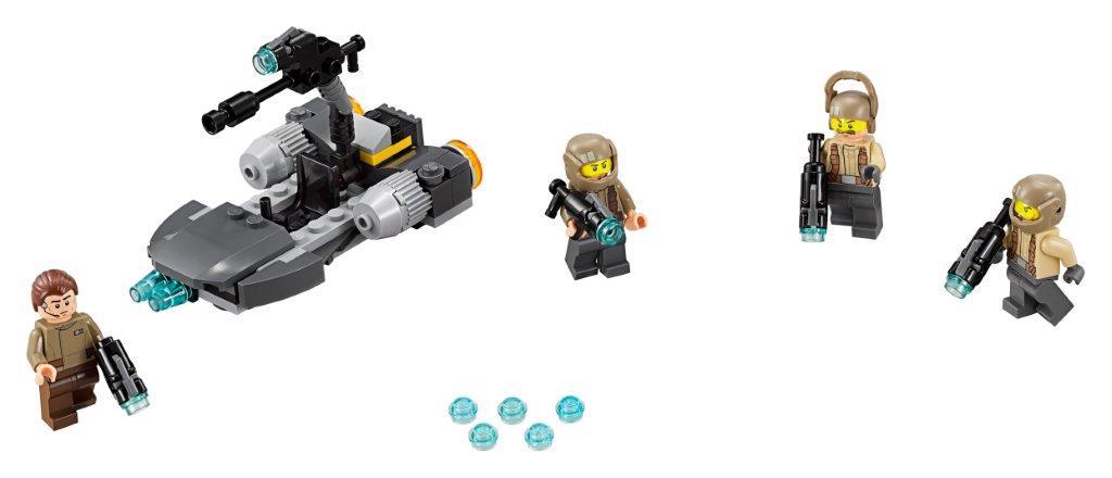 Star Wars LEGO Star Wars 75131 Боевой набор Сопротивления lego star wars конструктор боевой набор специалистов первого ордена 75197