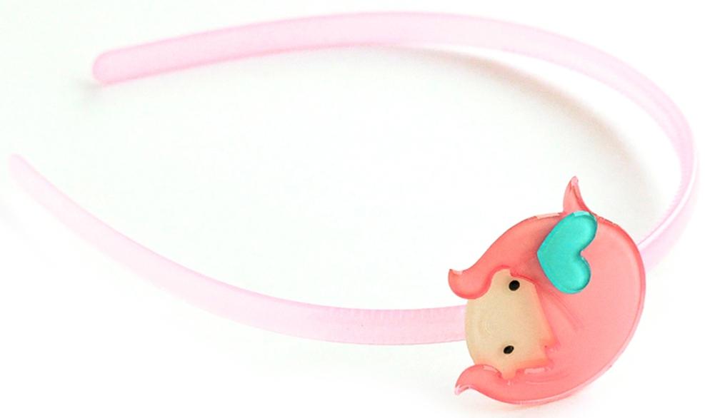 Украшения Принчипесса Ободок для волос Принчипесса светло розовый ободки city flash ободок для волос