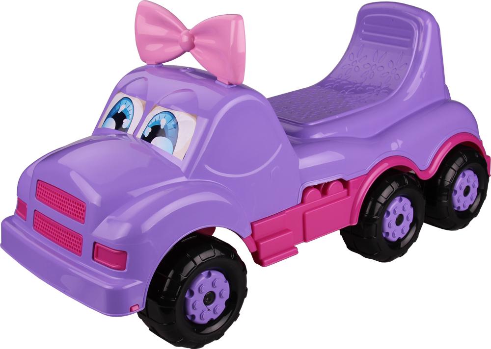 Фото - Машинки-каталки и ходунки Веселые гонки Каталка-машинка Весёлые гонки фиолетовая авто ночные гонки
