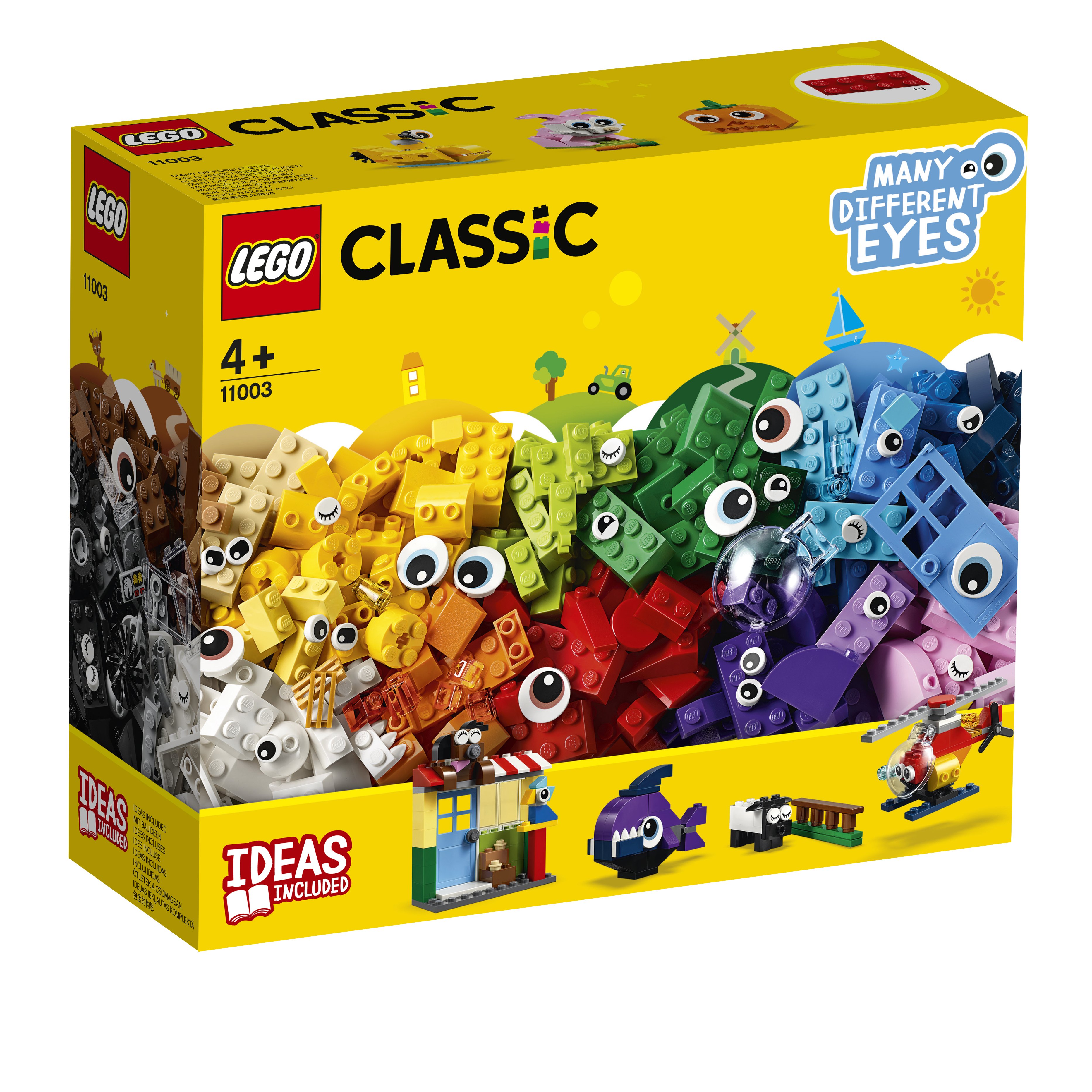 Конструктор LEGO LEGO Classic 11003 фонокорректор pro ject мм мс phono box usb dc black 00 00002645