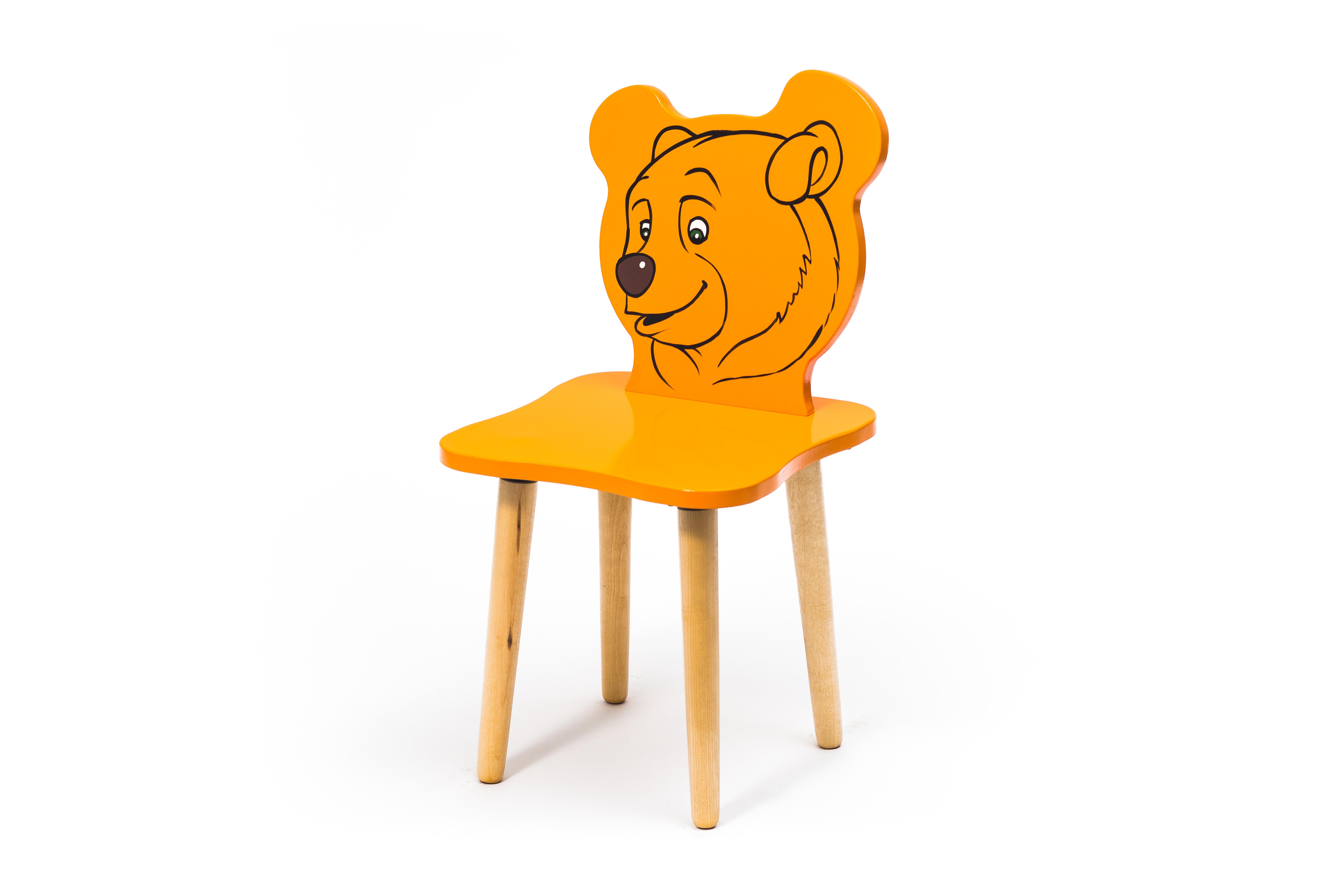 Детские стулья и табуреты Polli Tolli Джери. Медвежонок